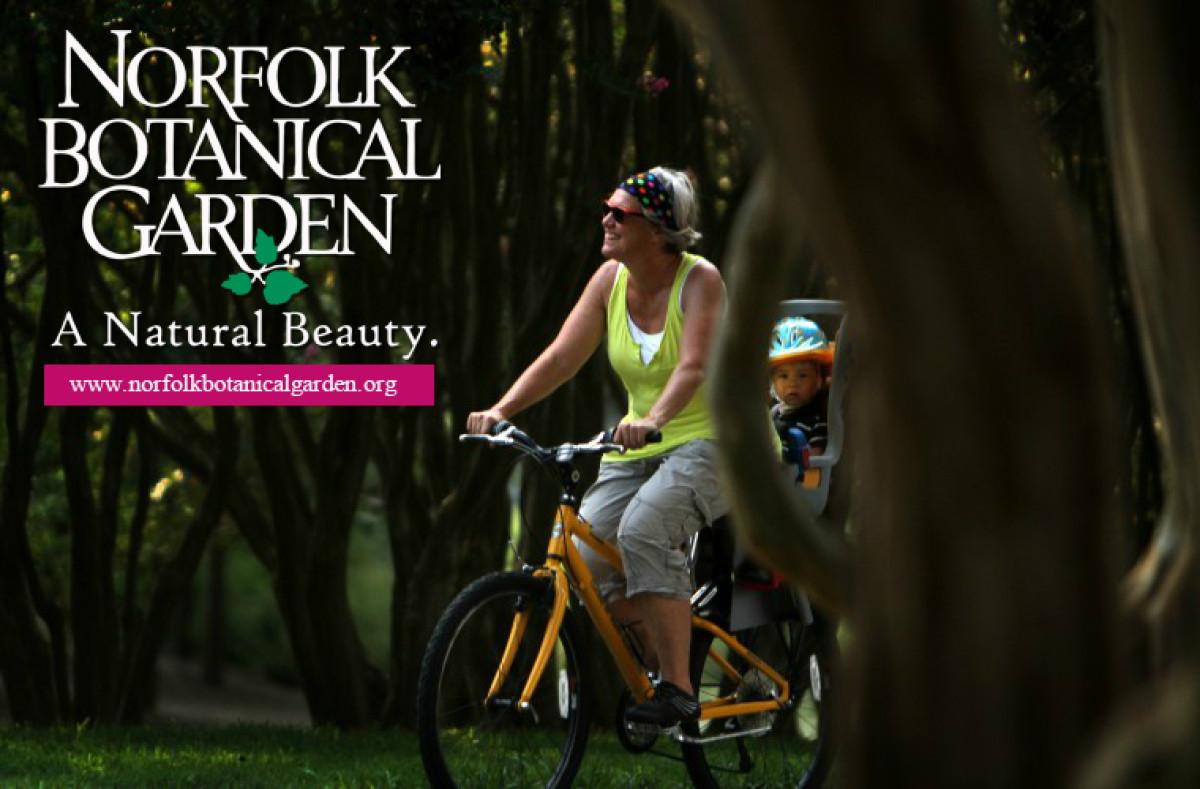 Norfolk Botanical Garden: Incredible Edibles Self Guided Bike Night Tour