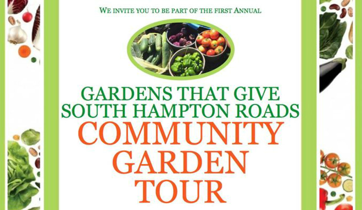 Gardens That Give South Hampton Roads Community Garden Tour